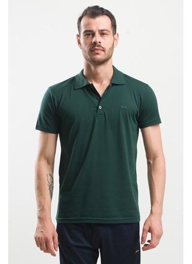 Slazenger Slazenger SPIRIT Erkek T-Shirt K. Yeşil